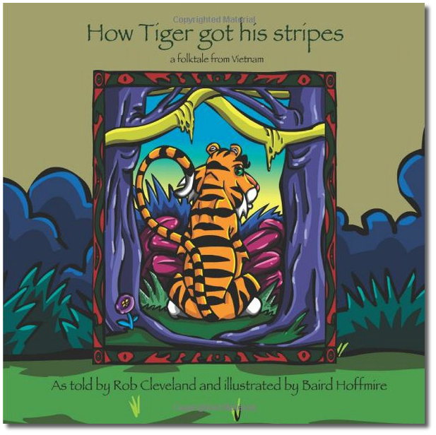 How Tiger Got His Stripes Cover