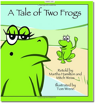 A Tale of Two Frogs Cover