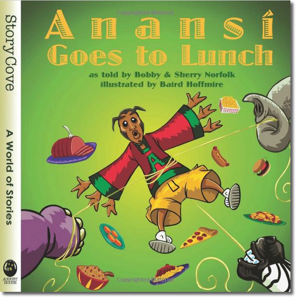 Anansi Goes to Lunch Cover