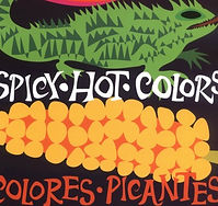 Spicy Hot Colors: Colores Picantes Cover