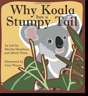 Why Koala has a Stumpy Tail Cover