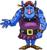 Ogre from Story Cove