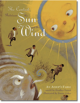 The Contest Between the Sun and the Wind Cover