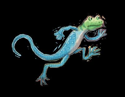 Lizard from The Sundown Kid