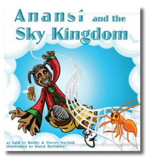 Anansi and the Sky Kingdom Cover