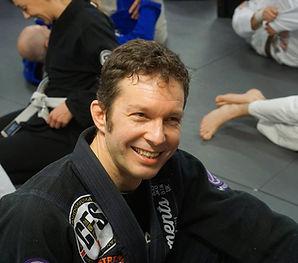 Centre Line Jiu Jitsu coach Howard Newto