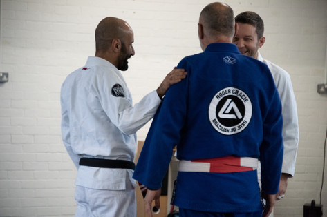 Always fun training with Mauricio