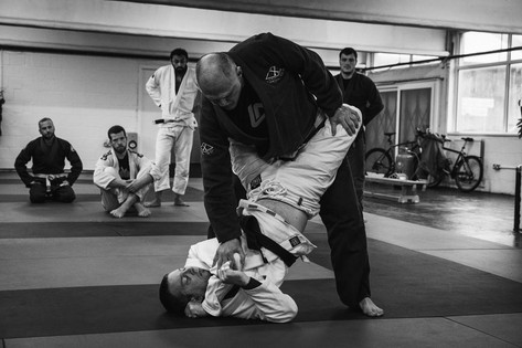 Stand up guard passing