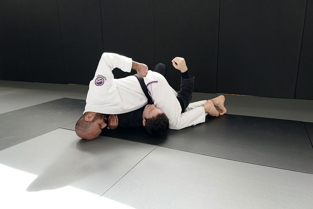 BJJ Black Belt Miad the devastating control position of the mounted crucifix