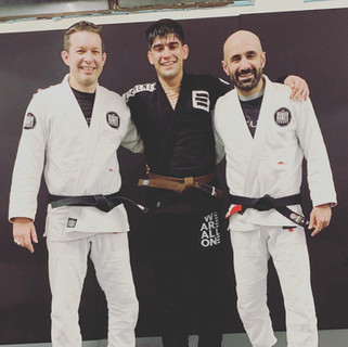 old friend Younis on the mats!