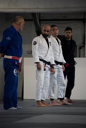 Mauricio & the Centre Line Black Belts