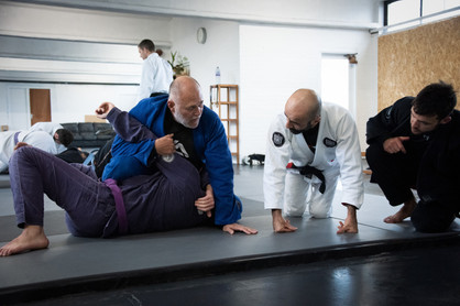 Black Belts getting the details from Mauricio