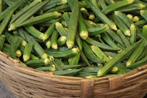 OKRA, Clemson Spineless 80