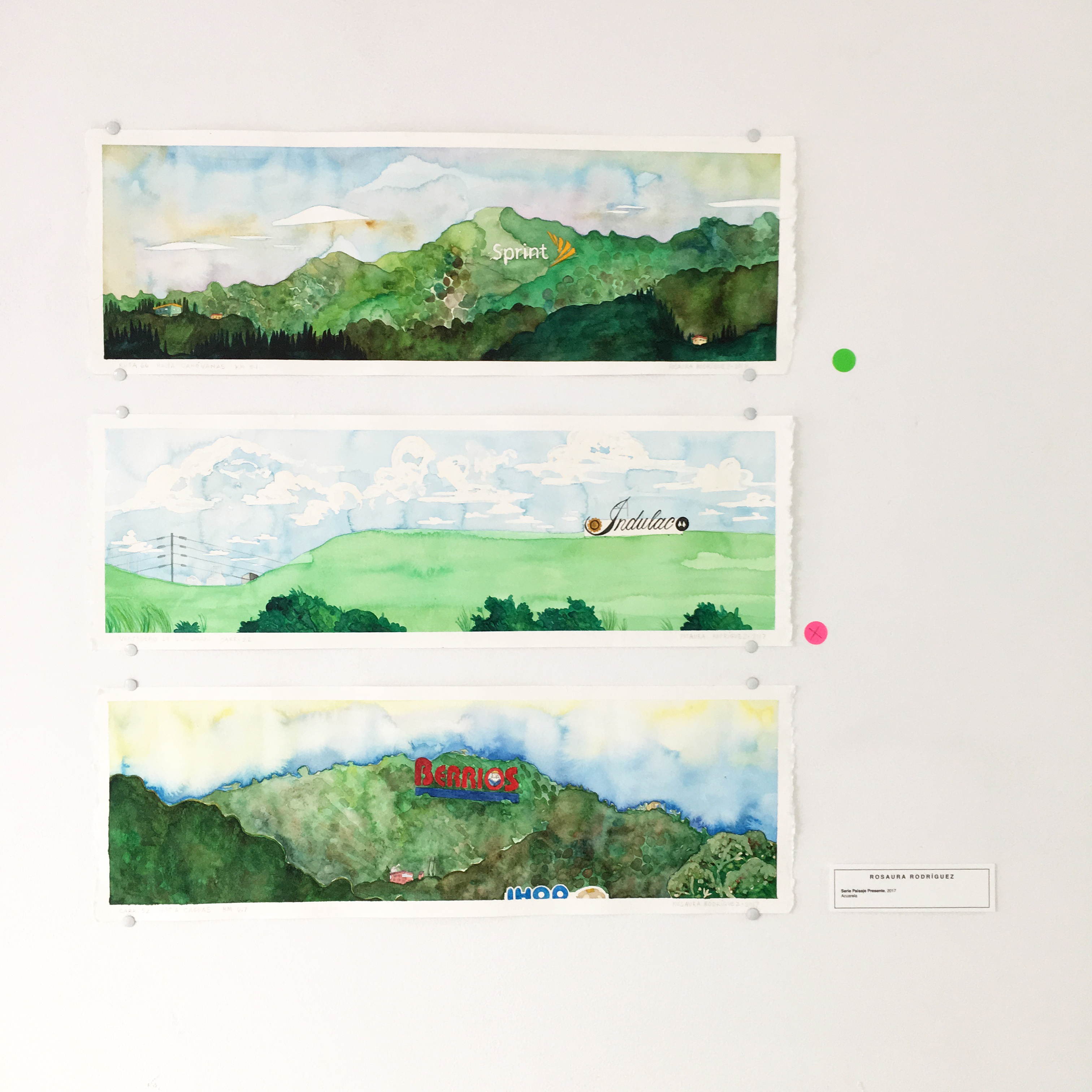 paisajes sprint letreros