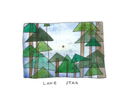 lone star sketch diary maine