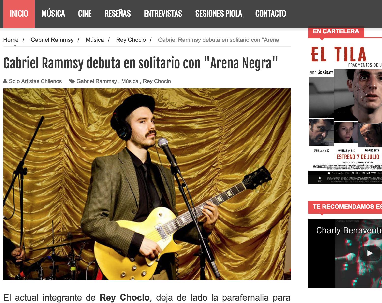SOLO ARTISTAS CHILENOS 06/2016
