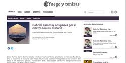 FUEGO Y CENIZAS 25/11/2016