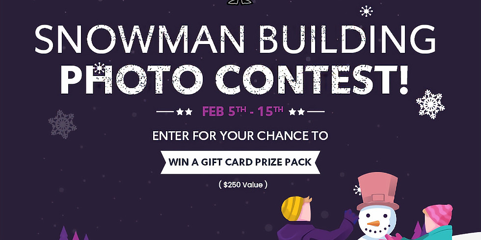 Bon Soo Snowman Building Contest