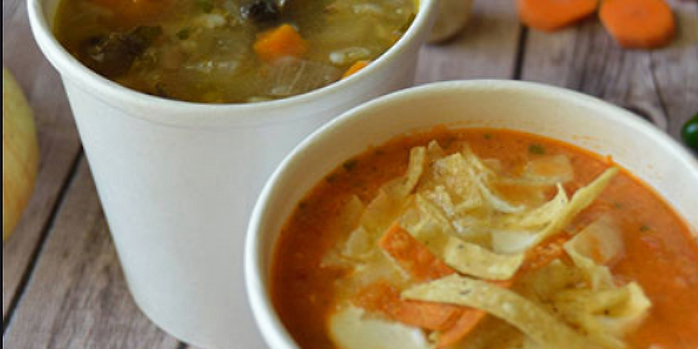 Purchase a soup during  Bon Soo and a portion of sales will support Zonta Club