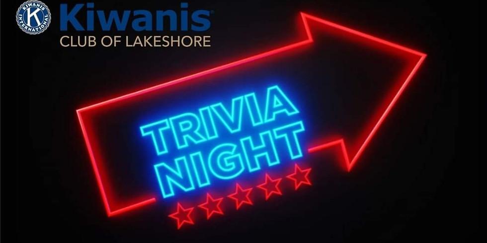 Kiwanis Club of Lakeshore Bon Soo Virtual Trivia Event