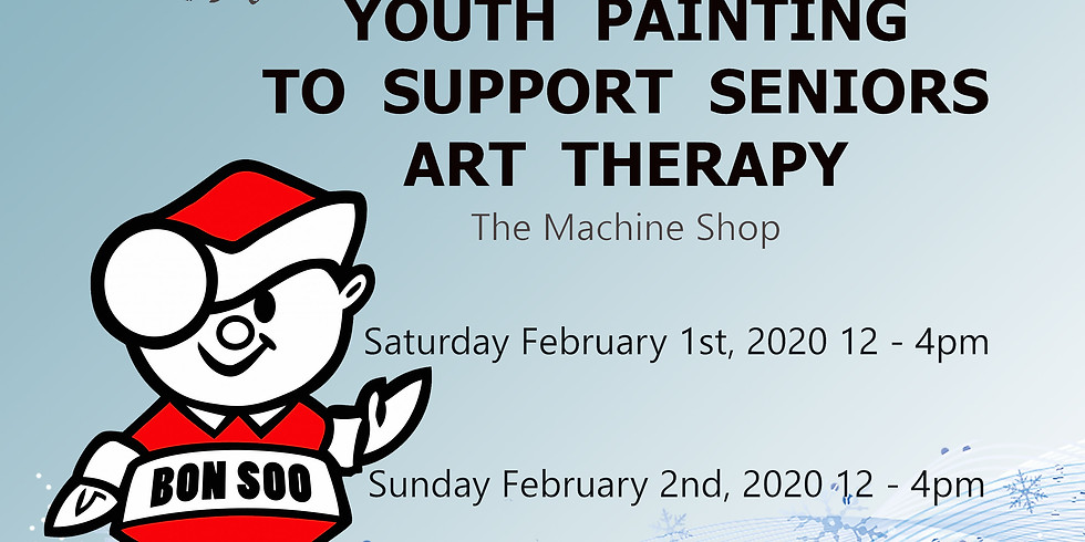 YOUTH PAINTING TO SUPPORT SENIORS ART THERAPY