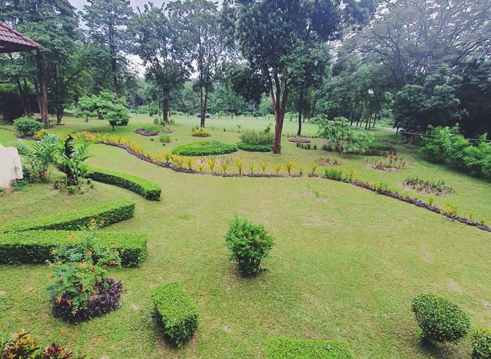 วิวฝั่งสวน