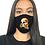 Thumbnail: Calavera Mask Black - Adult