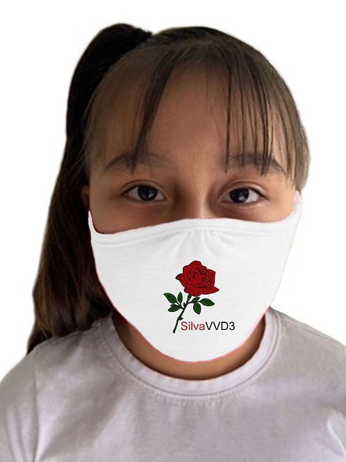 Rose Mask White - Child