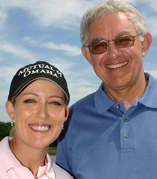Cristie Kerr and Dr. Joe Parent