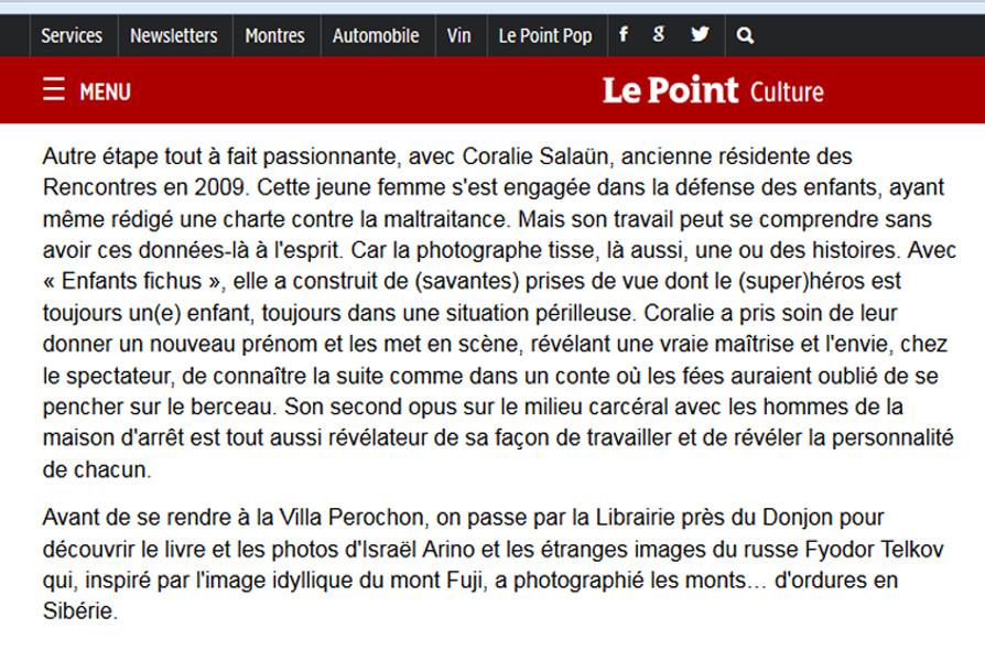 Article Le Point