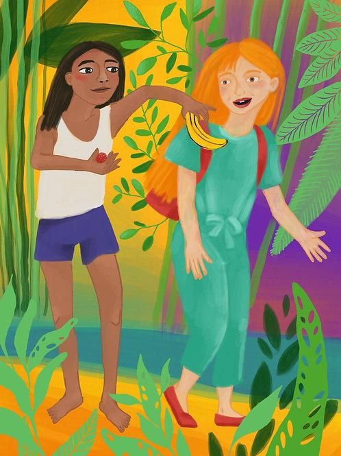 Livre pour enfants - Libro para niños