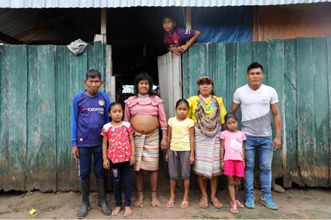 La famille de Rogelia