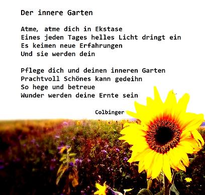 Colbinger Der innere Garten