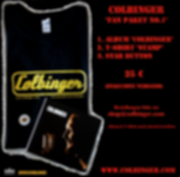 Colbinger Fan Paket No.1 Merchandise