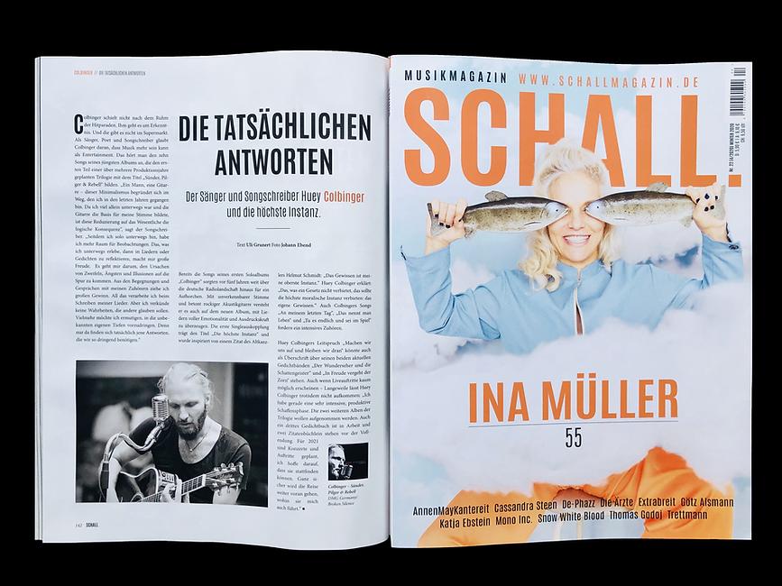Schallmagazin Colbinger 2020/2021