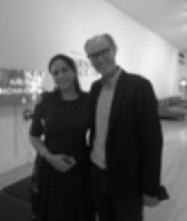 Will Gompertz and painter Aisha Bridgman