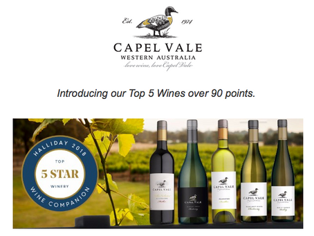Capel Vale - Halliday 5 Star Winery
