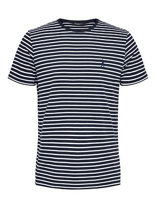 Selected Regular fit stribet T-shirt