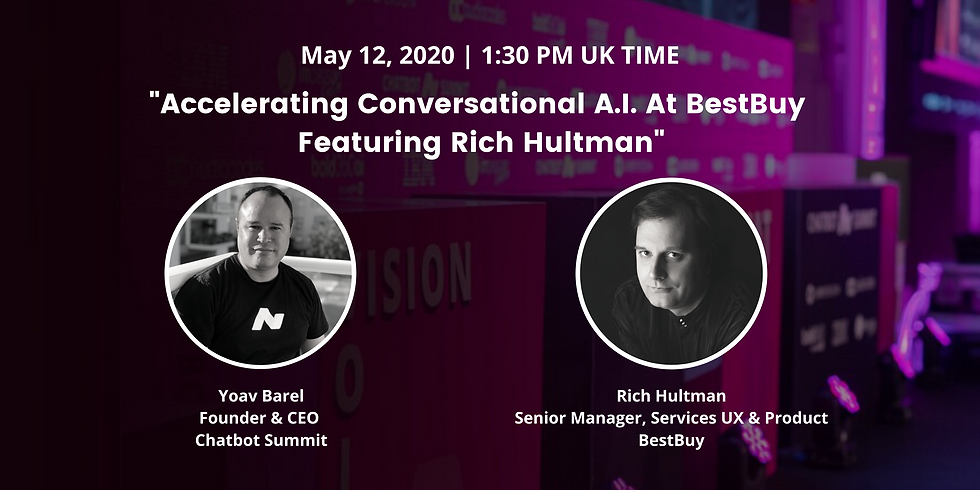 Accelerating Conversational A.I. At BestBuy Featuring Rich Hultman