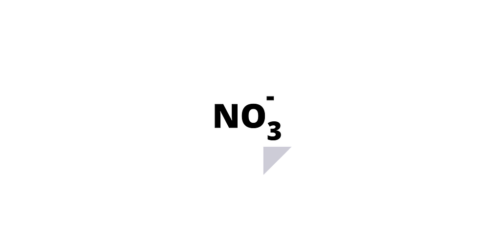 Nitrate ion