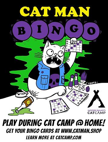 Cat Man Bingo
