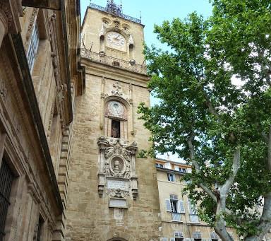 Domingo de arte em Aix-en-Provence
