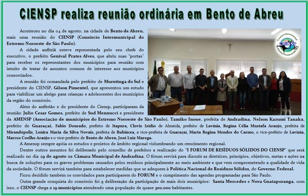 CIENSP REUNIÃO 04-08-2017