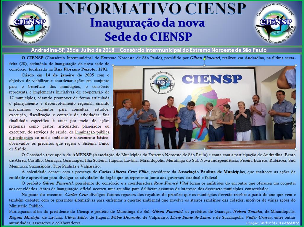 INFORMATIVO_CIENSP_-_INAUGURAÇÃO