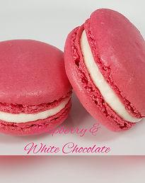 Macaron - Raspberry & White Chocolate.jp