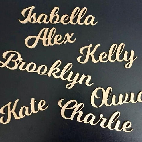 50 Table Place Names