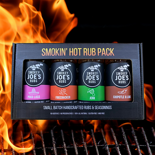 Smokin Hot Rub Pack