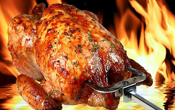 ROAST CHICKEN, smoked chicken
