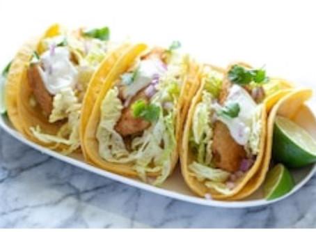 Smokey Joe's cajun fish tacos