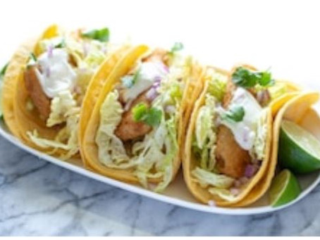 Smokey Joe's cajun fish tacos